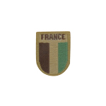 Night Vision French Flag Patch (Coyote)
