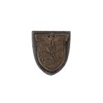 Insigne plaque commémorative Crimée en métal (Bronze)
