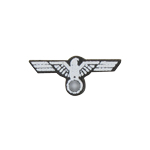 Heer Chest Eagle Insignia (White)