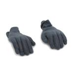Mains flexibles gantées (Gris)