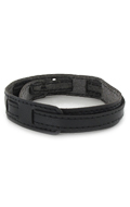 Leather belt (Black)