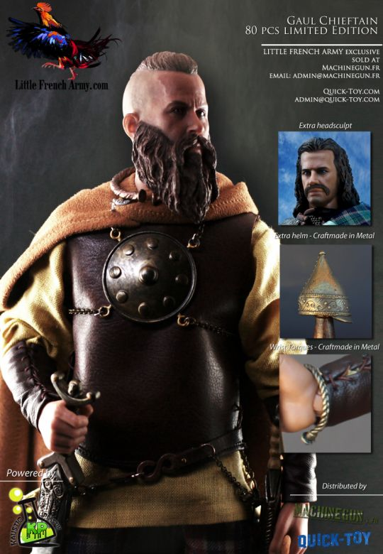 Celtic Warfare - Gaul Chieftain War Leader (Little French Army Exclusive)