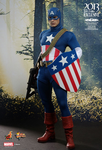 Captain America - Captain America (Star Spangled Man)