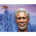 Headsculpt Morgan Freeman