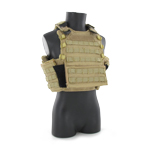 Hugger soft side plate carrier with sapi side plate carrier adapter