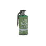 M18 smoke grenade green