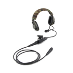 Sordin headset system with universal ptt