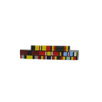 Ribbon bar eight medals