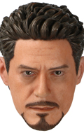 Headsculpt Robert Downey Jr.