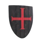 Templar Knight Shield (Black)