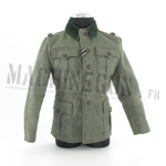 Heer Officer Field Gray M36 Tunic