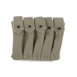 5 magazines ammo pouch for Thompson