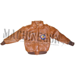 Leather A2 USAF Jacket (Brown)