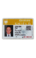 Carte ID de Phil Coulson plastifiée