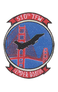 510th Tactical Fighter Wing Patch