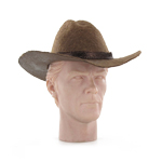 Chapeau de Cowboy Tom Horn (Marron)