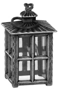 Diecast Light Up Lantern (Grey)