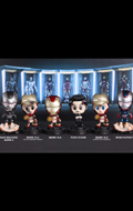 Set Iron Man 3 Cosbaby Series 2