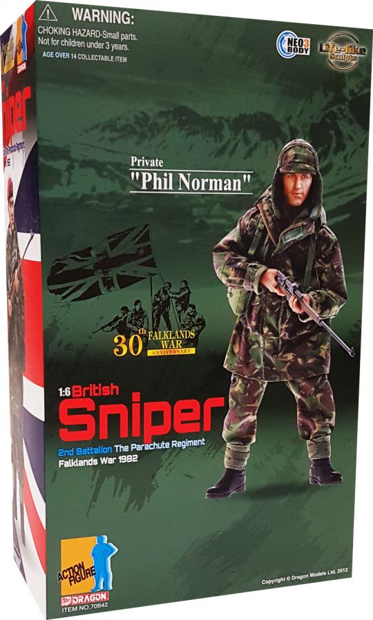 Private Phil Norman British Sniper