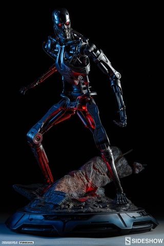 The Terminator - T-800 Endoskeleton Maquette
