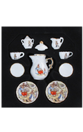 Porcelain Tea Time Set (White)