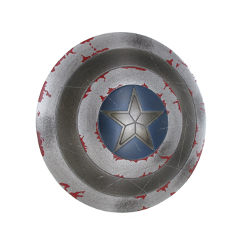 Bouclier Battle Damaged du Captain America (Gris)