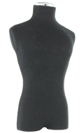Mannequin Display Bust (Black)