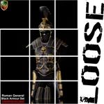 Set Roman General Black Armour (Exclusive Version)