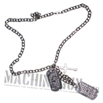 Dog Tags w/ christian cross