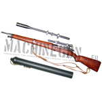 Springfield M1903-A4 rifle w/ M73B1 scop and unertl case