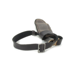 Leather Belt with Scabbard (Brown)