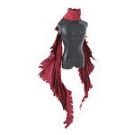 Battle Worn Cloak (Red)