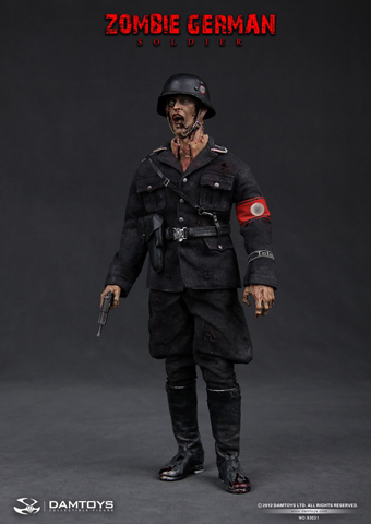 Zombie German SS Soldier