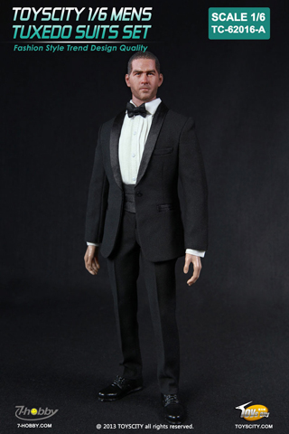 Set Smoking Homme (Noir)