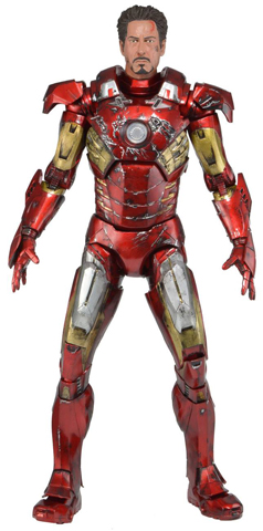 The Avengers - Iron Man Mark VII (Battle Damaged Version)