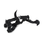 Warfare Rappelling Harness (Black)