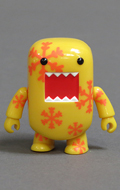 Domo Series 4 - Orange Snowflakes