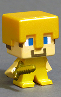 Grass Series 1 - Steve with Gold Armor