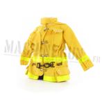 Veste jaune marquages réfléchissants