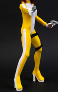 Speed Suit 2.0 (Yellow) Female Outfit Set