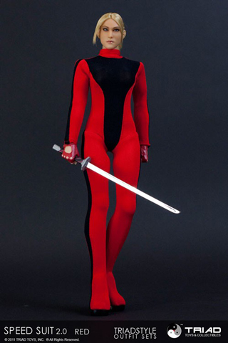 Set Speed Suit 2.0 Femme (Rouge)