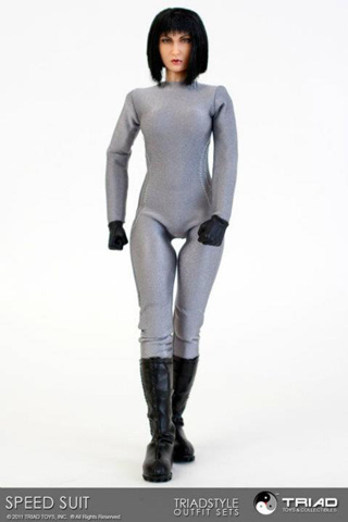 Set Speed Suit Femme (Argent)
