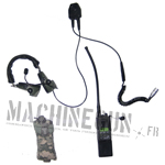 MBITR Radio w/Handset and ACU pouch