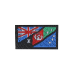 Australia and Afghanistan Flag Patch