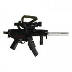 Pistolet mitrailleur HK MP5 en métal (Noir)
