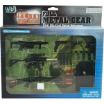 Full Metal Gear - Real Die-Cast Metal Weapons