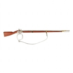 Wooden Diecast Flintlock Musket Rifle (Brown)