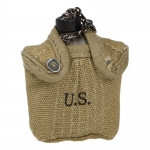 US Army M42 Canteen with Pouch (Coyote)