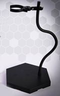 Snake Bone Universal Bracket Dynamic Display Stand (Black)