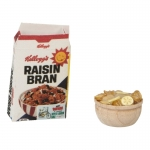 Rasin Bran Pack with Cereals  Bowl (White)